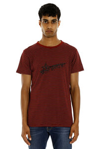 Striped cotton T-shirt, Short sleeve t-shirts Saint Laurent man