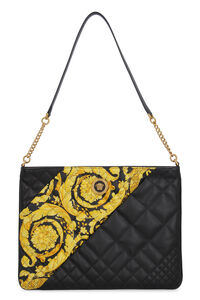 Quilted leather shoulder bag, Clutch Versace woman