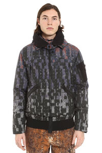 Shadow Project hooded padded bomber jacket, Down jackets Stone Island man