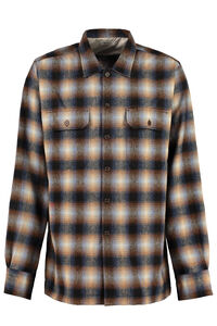 Checked wool shirt, Checked Shirts Universal Works man