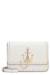 Anchor Logo studded leather shoulder bag, Shoulderbag JW Anderson woman