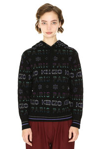 Knitted hoodie, Patterned sweaters Kenzo woman