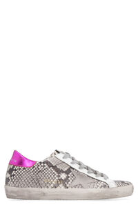 Superstar python-skin print leather sneakers, Low Top sneakers Golden Goose woman