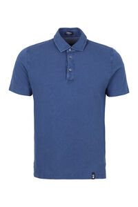Cotton piqué polo shirt, Short sleeve polo shirts Drumohr man