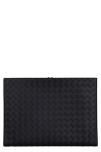 Intrecciato leather document case, Briefcases Bottega Veneta man