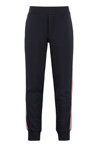 Track-pants with contrasting side stripes, Track Pants Moncler man