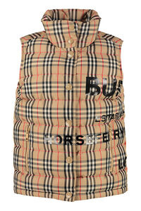 Full zip and buttons field vest, Vests and Gilets Burberry woman