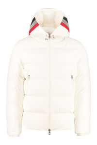 Corborant hooded down jacket, Down jackets Moncler man