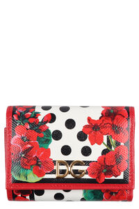 Printed leather wallet, Wallets Dolce & Gabbana woman