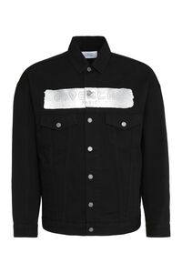 Logo print denim jacket, Denim jackets Givenchy man