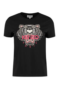 Tiger cotton T-shirt, T-shirts Kenzo woman