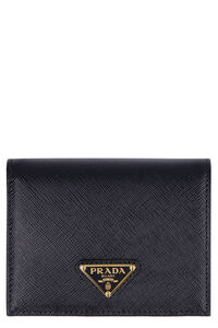 Saffiano leather small wallet, Wallets Prada woman