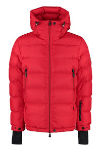Isorno full zip padded hooded jacket, Down jackets Moncler Grenoble man
