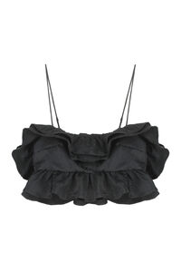 Ruffled top, Crop tops MSGM woman