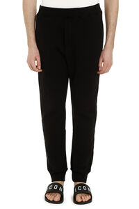 Stretch cotton joggers pants, Track Pants Dsquared2 man