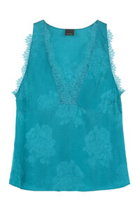 Esagerato lace trimmed top, Tanks and Camis Pinko woman