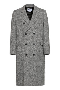 Padded double-breast peacoat, Overcoats MSGM man