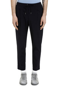 Stretch cotton trousers, Casual trousers Moncler man