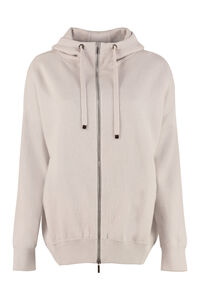 Jersey hooded sweatshirt, Hoodies S Max Mara woman