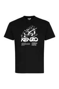 Crew-neck cotton T-shirt, Short sleeve t-shirts Kenzo man