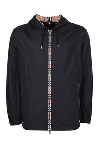 Hooded windbreaker, Raincoats And Windbreaker Burberry man