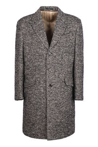 Wool and mohair coat, Overcoats Gucci man