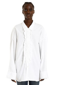 Ruffled cotton shirt, Shirts R13 woman