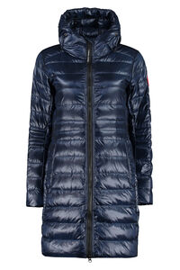 Cypress long hooded down jacket, Down Jackets Canada Goose woman