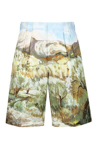 Cotton and linen bermuda-shorts, Shorts Jacquemus man