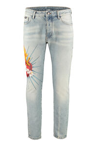 5-pocket jeans, Slim jeans Palm Angels man