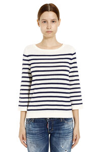 Claudine striped pullover, Patterned swea
