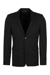 Single-breasted two button jacket, Single breasted blazers Fendi man