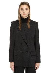 Madison double-breast wool blazer, Blazers Max Mara woman