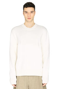Memory of intarsia knitted jumper, Crew necks sweaters Maison Margiela man