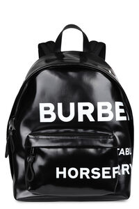 Backpack with logo print, Backpack Burberry man