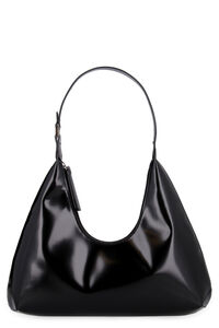 Amber leather shoulder bag, Top handle BY FAR woman
