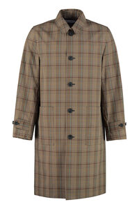 Checked car coat, Overcoats Helmut Lang man