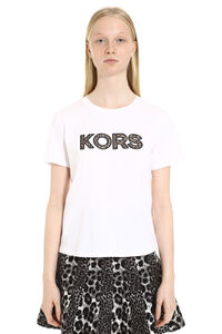 Crew-neck cotton T-shirt, T-shirts MICHAEL MICHAEL KORS woman