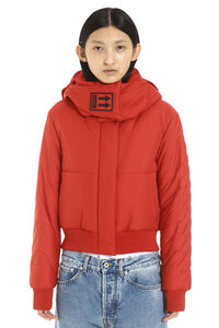 Full zip padded hooded jacket, Down Jackets Off-White woman