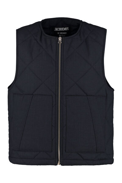 Romarin quilted vest