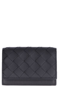 VN Intrecciato card case, Wallets Bottega Veneta man