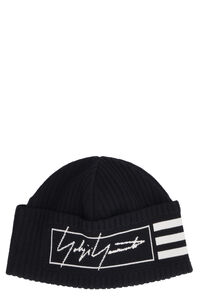 Ribbed knit beanie, Hats Adidas Y-3 man