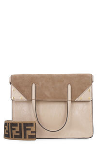 Fendi Flip leather tote, Tote bags Fendi woman