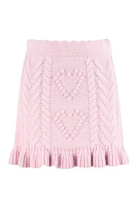 Brendana knitted mini skirt, Mini skirts LoveShackFancy woman