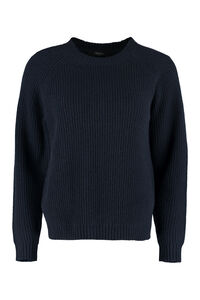 Adorno ribbed knit pullover, Crew neck sweaters Weekend Max Mara woman