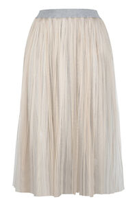 Pleated tulle skirt, Pleated skirts Fabiana Filippi woman