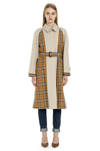 Vintage check inserts trench coat, Raincoats And Windbreaker Burberry woman