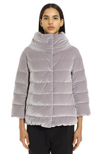 Velvet down jacket, Down Jackets Herno woman