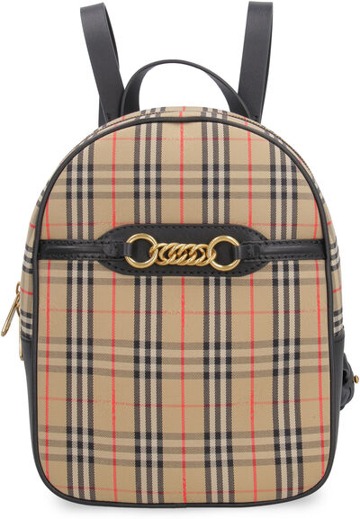 The 1983 Check Link canvas backpack