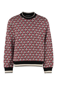 Jacquard crew neck sweater, Crew necks sweaters Dolce & Gabbana man